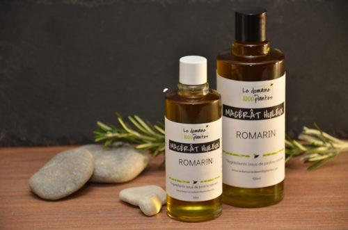Macérât huileux Romarin - Le Domaine des 1000 plantes