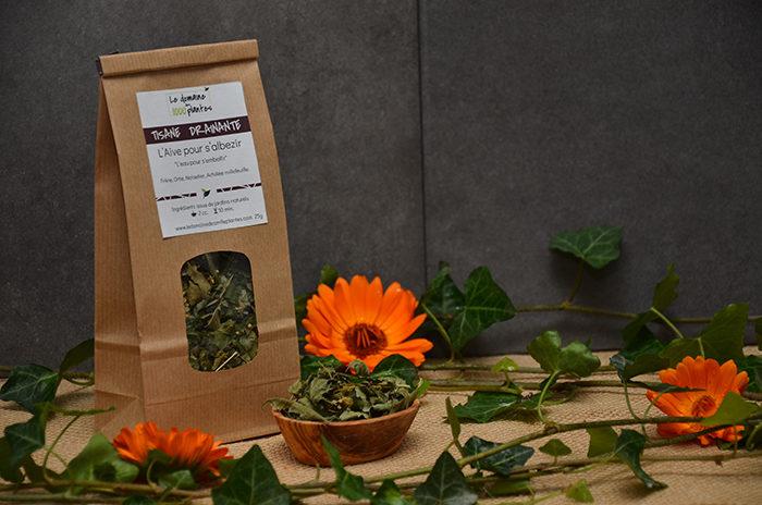 Sachet de Tisane Drainante - L'Aive pour s'albezir - Le domaine des 1000 plantes
