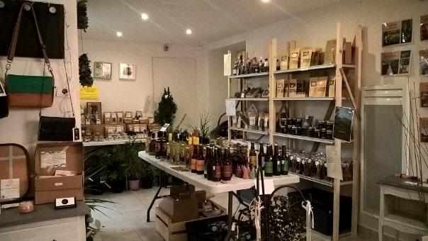 """Boutique éphémère """"Instant Local"""" avec l'association Le Millelieu à Saint Philbert de Grand lieu"""